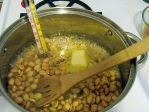 step by step peanut brittle
